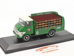 Ebro C150 Camion Estrella de Galicia Anno di costruzione 1968 verde 1:43 Altaya