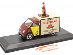 DKW F89 Van Soberano year 1960 brown / yellow 1:43 Altaya