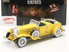 Düsenberg II SJ fuera la Película The Great Gatsby 2013 amarillo 1:18 Greenlight