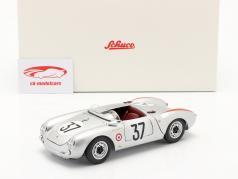 Porsche 550 A Spyder #37 优胜者 S1.5级 24h LeMans 1955 1:18 Schuco
