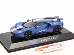 Ford GT Año de construcción 2017 azul metálico 1:43 Altaya