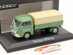Tempo Wiking Fischmaul Camioneta Con Planes 1953-55 verde / beige 1:43 Norev