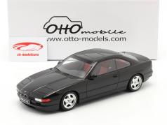 BMW 850 CSI (E31) Ano de construção 1990 Preto 1:18 OttOmobile