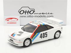 Peugeot 405 T16 Gr. S #405 Presentation Car 1988 blanc 1:18 OttOmobile