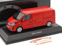 Opel Vivaro Van rød 1:43 iScale