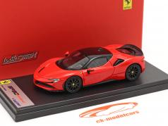 Ferrari SF90 Stradale Byggeår 2019 scuderia rød / sort 1:43 LookSmart