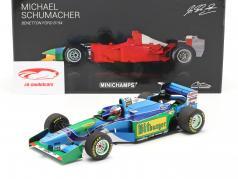 Michael Schumacher Benetton B194 #5 fórmula 1 Campeón mundial 1994 1:18 Minichamps