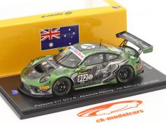 Porsche 911 GT3 R #912 Séptimo 12h Bathurst 2020 Absolute Racing 1:43 Spark