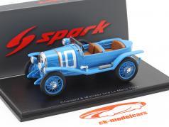Chenard & Walcker Sport #10 2do 24h LeMans 1923 Bachmann, Dauvergne 1:43 Spark
