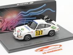 Porsche 911 Carrera RS 2.7 #127 Rallye Monte Carlo 1978 1:43 Spark