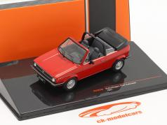 Volkswagen VW Golf I Cabriolet Année de construction 1981 rouge 1:43 Ixo