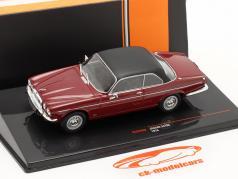 Jaguar XJ12C Año de construcción 1976 oscuro rojo / negro 1:43 Ixo