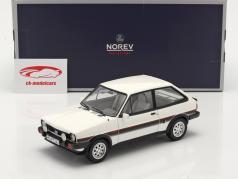 Ford Fiesta XR2 Año de construcción 1981 Blanco / negro 1:18 Norev
