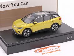 Volkswagen VW ID.4 建设年份 2021 蜜糖 黄色 金属的 1:43 Norev