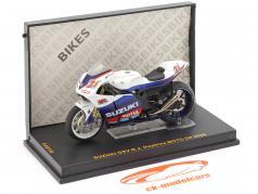 John Hopkins Suzuki GSV-R #21 MotoGP 2005 1:24 Ixo