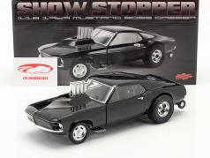 Ford Mustang Boss Gasser Show Stopper 1969 sort 1:18 GMP