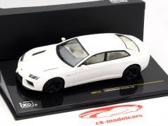 Lamborghini Estoque 200 Baujahr 2008 perlweiß 1:43 Ixo / 2. Wahl