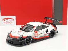 Porsche 911 (991) RSR #912 24h Daytona 2018 Bamber, Bruni, Vanthoor 1:18 Ixo