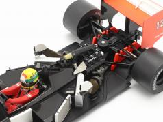 Ayrton Senna McLaren MP4/4 #12 日本 GP 式 1 世界チャンピオン 1988 1:18 Premium X