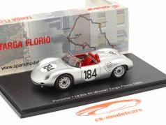 Porsche 718 RS 60 #184 winnaar Targa Florio 1960 Bonnier, Herrmann 1:43 Spark