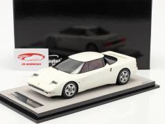 Ferrari 408 4RM Baujahr 1987 avus weiß 1:18 Tecnomodel