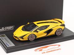 Lamborghini Sian FKP 37 Hybrid Baujahr 2020 matt gelb 1:43 LookSmart