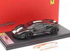 Ferrari 488 Pista Piloti #51 Baujahr 2018 schwarz 1:43 LookSmart