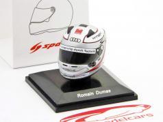Romain Dumas Audi R18 TDI 24h LeMans 2011 Mini Helm 1:8 Spark