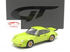 Porsche 911 Carrera RS 3.0 Coupe Anno di costruzione 1974 verde chiaro 1:18 GT-SPIRIT