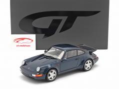 Porsche 911 (964) Turbo 3.3 Ano de construção 1991 amazon verde 1:18 GT-SPIRIT