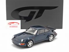 Porsche 911 (964) Turbo 3.3 Byggeår 1991 amazon green 1:18 GT-SPIRIT
