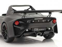 Lotus 3-Eleven natte noir avec brillant accents 1:18 AUTOart
