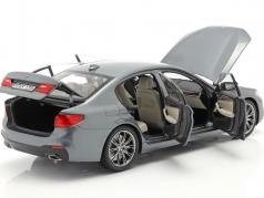 BMW 5 Series (G30) sedan Opførselsår 2017 Bluestone metallisk 1:18 Kyosho