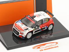 Citroen C3 R5 #27 Rallye Monte Carlo 2020 Camilli, Buresi 1:43 Ixo