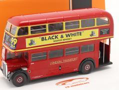 AEC Regent III RT RHD London Transport Bus Baujahr 1939 rot 1:43 Ixo