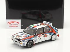 Lancia Delta HF Integrale #5 vinder Rallye SanRemo 1992 1:18 Kyosho