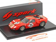Ford GT40 #25 12h Sebring 1966 Whitmore, Gardner 1:43 Spark
