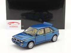 Lancia Delta HF Integrale Evo II Club HF 1994 lagos blå metallisk 1:18 Kyosho