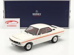 Opel Manta Swinger Byggeår 1975 hvid 1:18 Norev