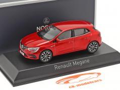 Renault Megane 建设年份 2020 火焰 红色的 1:43 Norev