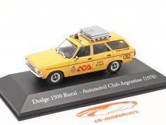 Dodge 1500 Rural Club automobile Argentine 1978 jaune 1:43 Altaya