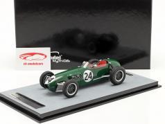 Cliff Allison Lotus 12 #24 6e Monaco GP formule 1 1958 1:18 Tecnomodel