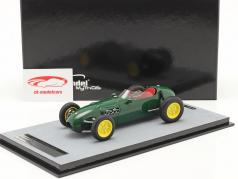 Lotus 12 presse version 1958 Britanique courses vert 1:18 Tecnomodel