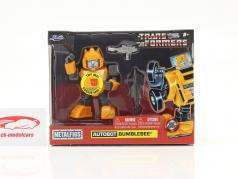 Autobot G1 Bumblebee 电影 Transformers 黄色的 4 inch Jada Toys