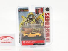 Chevrolet Camaro Bumblebee 2016 Transformers 5 (2017) giallo 1:64 Jada Toys