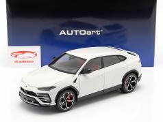Lamborghini Urus Anno di costruzione 2018 bianca metallico 1:18 AUTOart