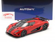 Koenigsegg Agera RS year 2015 chili red / carbon 1:18 AUTOart