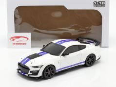 Ford Mustang Shelby GT500 Fast Track Byggeår 2020 hvid 1:18 Solido