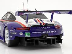 Porsche 911 (991) RSR #91 第二名 LMGTE Pro 24h LeMans 2018 1:18 Ixo
