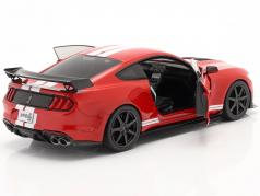 Ford Mustang Shelby GT500 Fast Track 建設年 2020 赤 1:18 Solido
